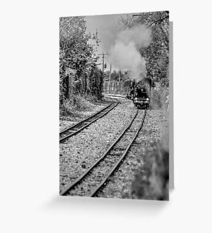 Romney, Hythe & Dymchurch Railway Greeting Card