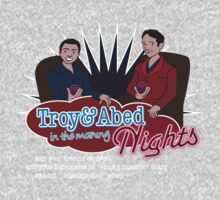 Troy and Abed in the Morning... NIGHTS! One Piece - Short Sleeve