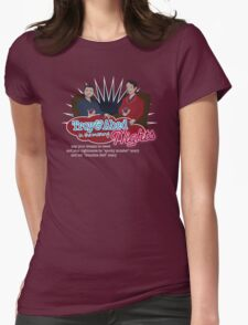 Troy and Abed in the Morning... NIGHTS! Womens Fitted T-Shirt