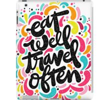 Eat & Travel iPad Case/Skin