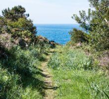 Footpath to the coast Sticker
