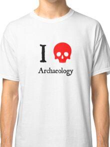 I Heart Archaeology Classic T-Shirt