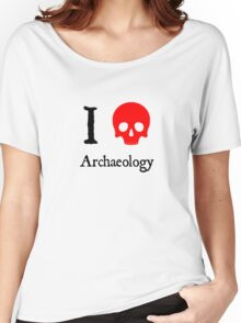 I Heart Archaeology Women's Relaxed Fit T-Shirt