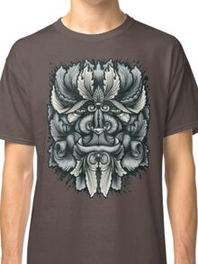 Filigree Leaves Forest Creature Beast Variant Classic T-Shirt