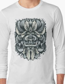 Filigree Leaves Forest Creature Beast Variant Long Sleeve T-Shirt