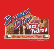 Inez & Pedro's Alamo Basement Tours One Piece - Short Sleeve