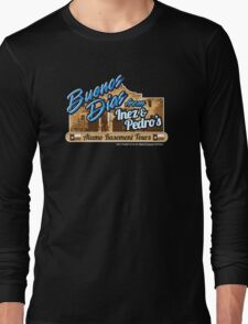 Inez & Pedro's Alamo Basement Tours Long Sleeve T-Shirt