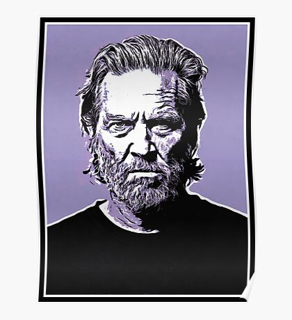 dude abide Poster