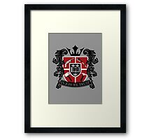 In Joss We Trust Framed Print