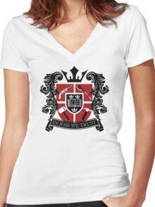 In Joss We Trust Women's Fitted V-Neck T-Shirt