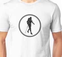 Mens Backpacking Unisex T-Shirt