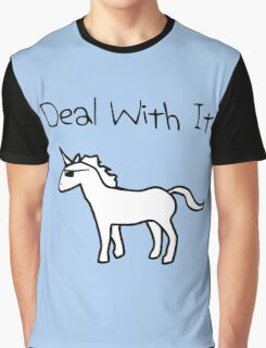 Deal With It (Unicorn) Graphic T-Shirt