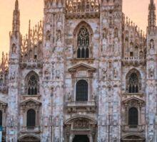 Il Duomo Milan Morning Sticker