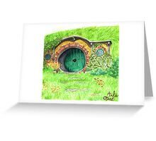 A Hole in the Ground Greeting Card