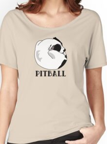 A Tiny Big Dog - Love for Pitballs.  Women's Relaxed Fit T-Shirt