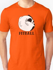 A Tiny Big Dog - Love for Pitballs.  Unisex T-Shirt