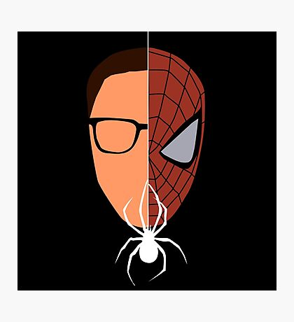 Spider-man/Peter Parker  Photographic Print