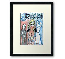 Darkworld 019 Framed Print