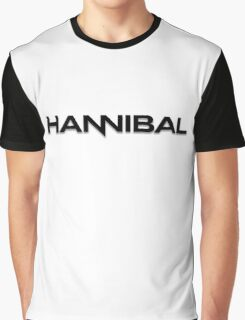 Hannibal logo in black Graphic T-Shirt