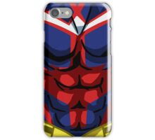 All Might iPhone Case/Skin