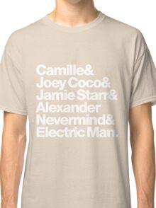 Prince Aliases Joey Coco & Jamie Starr Threads Classic T-Shirt