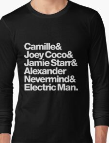Prince Aliases Joey Coco & Jamie Starr Threads Long Sleeve T-Shirt