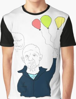 You're Never Tool Old For Balloons - Mike Ehrmantraut Graphic T-Shirt