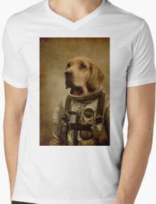 Discover space Mens V-Neck T-Shirt