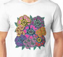 Abstract #408 Flower Power #10 Unisex T-Shirt