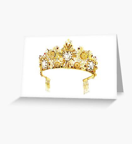 D&G {Crown} Greeting Card
