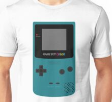 Game Boy Teal Unisex T-Shirt