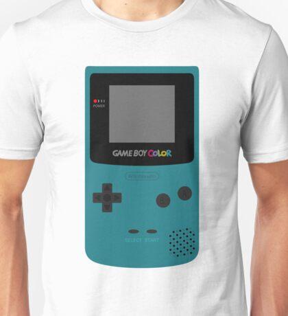 Game Boy Teal Unisex T-Shirt
