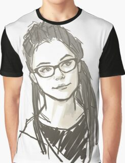 Drawing of Cosima Graphic T-Shirt