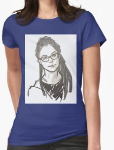Drawing of Cosima Womens Fitted T-Shirt