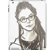 Drawing of Cosima iPad Case/Skin