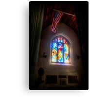The Crusaders with The Stars and Stripes Canvas Print