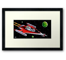 ROCKET LAB Framed Print