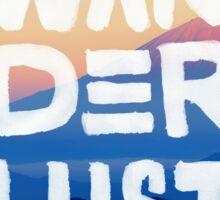 Wanderlust 4 Sticker