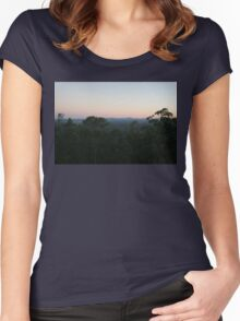 Sunset in Brisbane Women's Fitted Scoop T-Shirt
