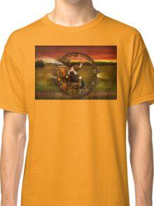 Steampunk - The gentleman's monowheel Classic T-Shirt