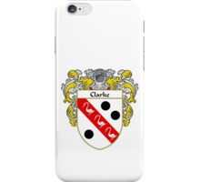 Clarke Coat of Arms/Family Crest iPhone Case/Skin