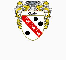Clarke Coat of Arms/Family Crest Unisex T-Shirt