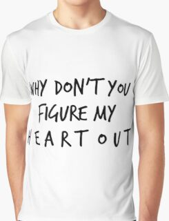 the 1975 // heart out Graphic T-Shirt
