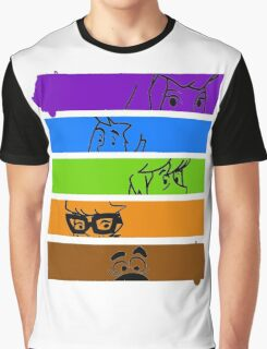 The Scooby Gang Graphic T-Shirt
