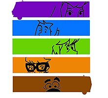The Scooby Gang Photographic Print