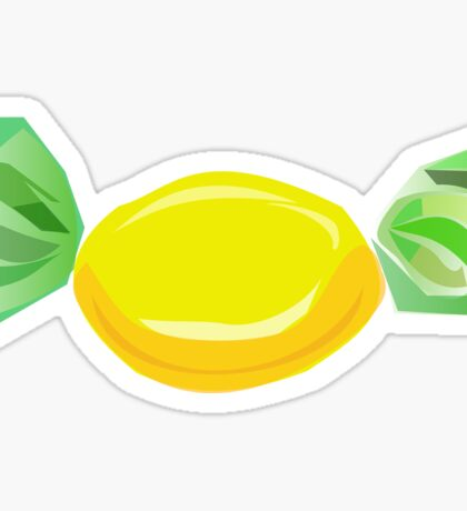 Cool Lemon Yellow Sweet Graphic Sticker