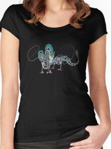 Spirited Away - Haku Women's Fitted Scoop T-Shirt
