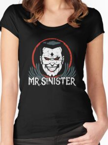 Mr. Sinister •X-Men Animated Cartoon Women's Fitted Scoop T-Shirt