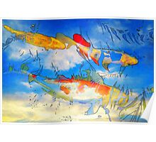 Life Is But A Dream - Koi Fish Art Poster