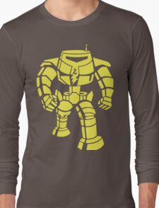 Manbot - Lime Variant Long Sleeve T-Shirt